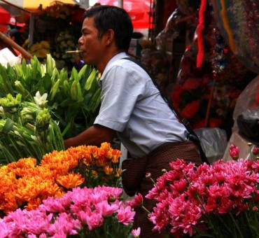 Downtown Yangon's colourful chaos