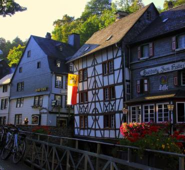 The pretty little town of Monschau