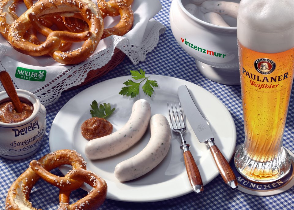 Weisswurst is one of the most famous German wurst in the world