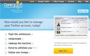 tweepi 300x187 Cara Menambah Followers Twitter Dengan Cepat