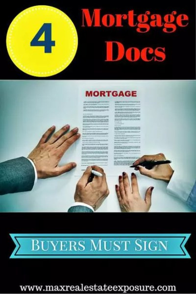 4 Important Mortgage Documents Buyers Must Sign | TRID
