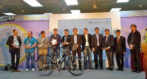Volt folding ebike wins Extraenergy award in taipei