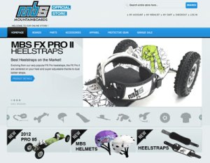 MBS Mountainboards Online Shop