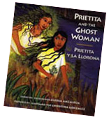Prietita and the Ghost Woman illustrated by Maya Gonzalez