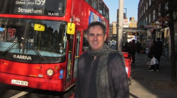 Jonathan Bartley is one of 6 people campaigning to become the Green party candidate.