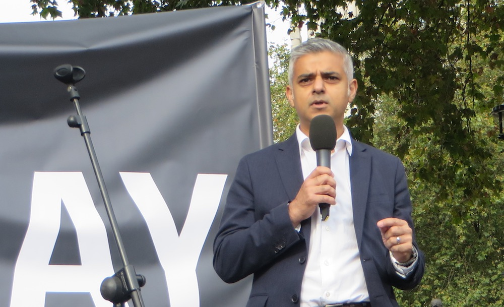 Sadiq Khan says the decision was taken to avoid embarrassing his Tory rival.