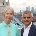 Justine Simons with Mayor Sadiq Khan. Image: Greater London Authority.