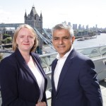 Deputy Mayor of London Joanne McCartney with London Mayor Sadiq Khan