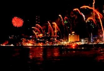 Combate Naval Carnaval de Mazatlán 2016