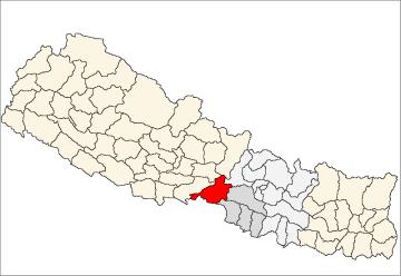 map of chitwan