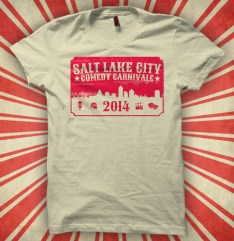 Salt Lake City Comedy Carnivale T-Shirt