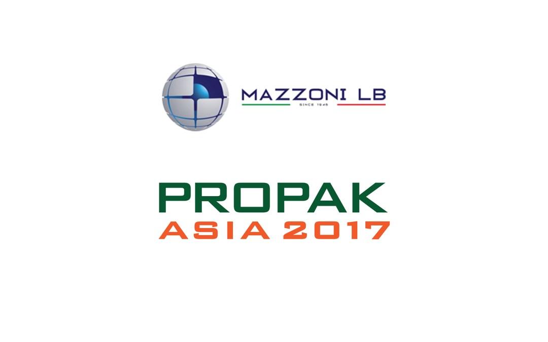 MAZZONI LB IN PROPAK 2017 ASIA