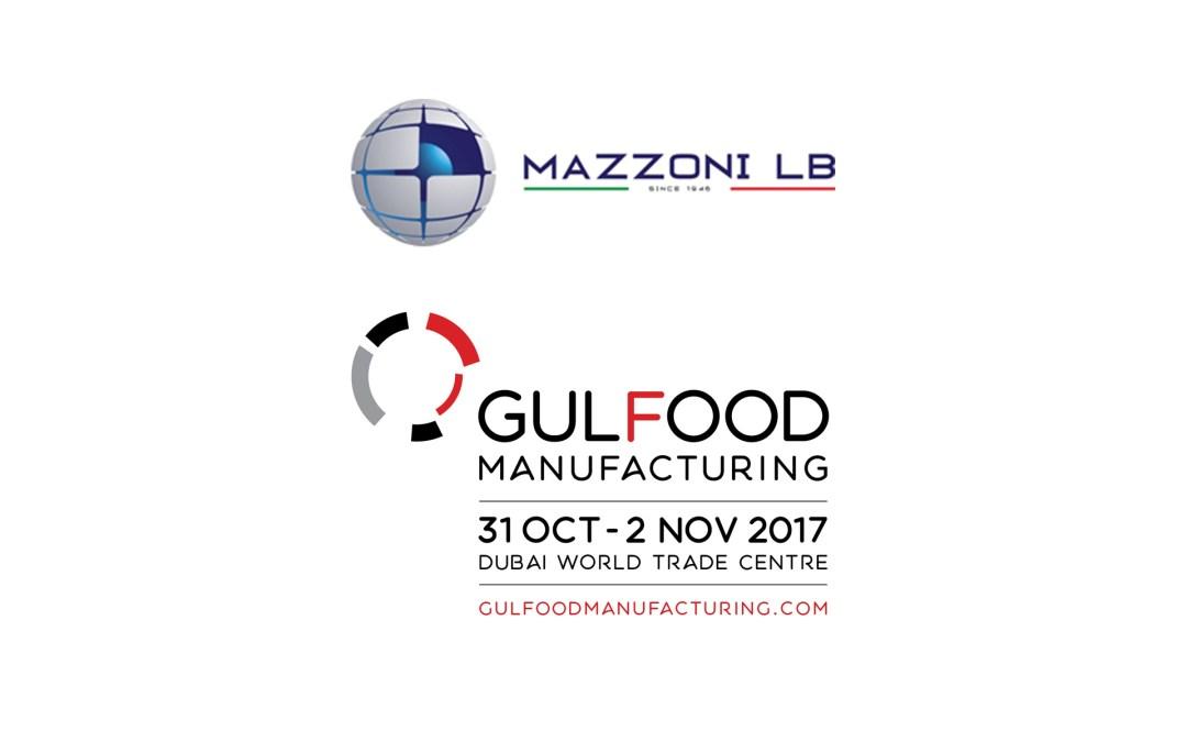 MAZZONI LB IN GULFOOD MANUFACTURIN 2017 DUBAI