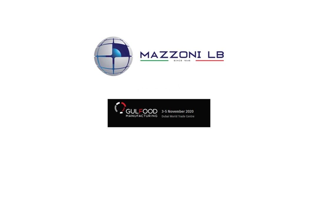 MAZZONI LB IN GULFOOD MANUFACTURING 2020 DUBAI