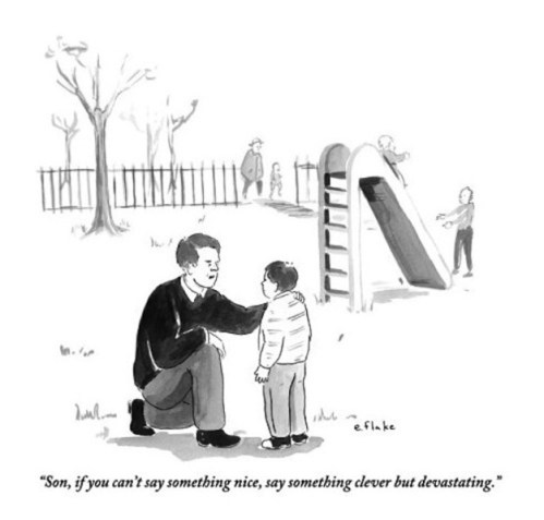 Funny New Yorker Cartoon