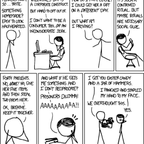 A Valentines Dilemma from XKCD