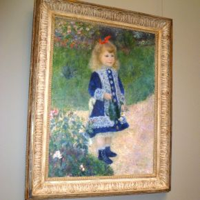 Ode on Renoir's A Girl with a Watering Can:  Seeing the Eternal in the Ephemeral