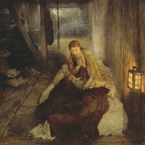 Die heilige Nacht (Triptychon). 1888/89