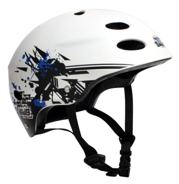 2721X-MBS Helmet-Grafstract-White-side shot