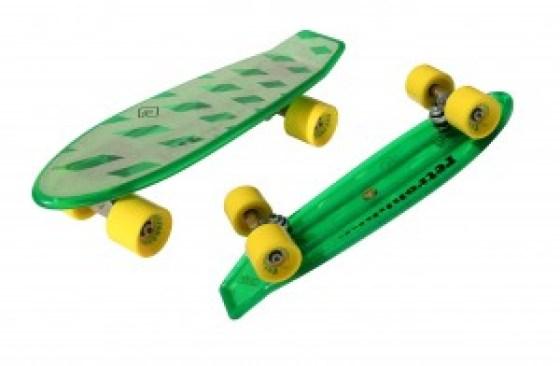 Atom Retroh Plastic Skateboard