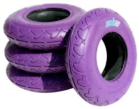 MBS Roadie Tyres Purple