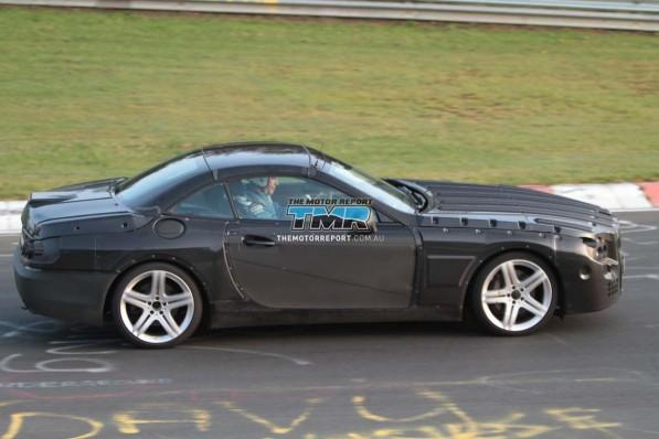 2013 mercedes benz sl class spy photos 15 4cbe27f5a4515 1280x1024 597x398  Spy Photo: 2013 Mercedes Benz SL Class