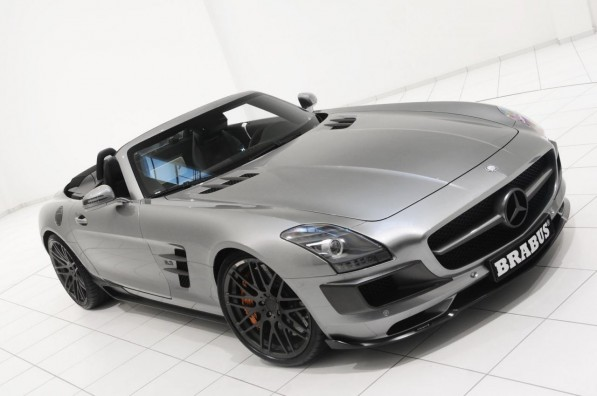 brabus mercedes benz sls amg roadster photo gallery 19 597x396 Brabus Wows With Its SLS AMG Roadster