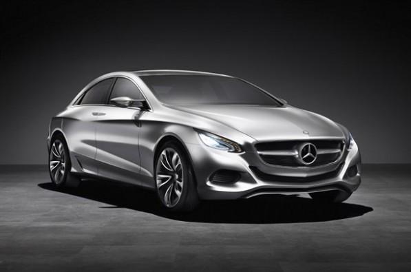 newmercconcept 597x395 Mercedes Benz Set to Unveil New Concept Car