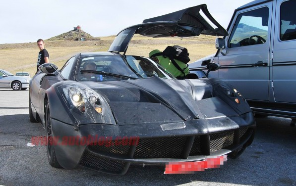 zonda2spy6 597x376 I opener: AMG ends all speculations on Pagani C9s powerplant