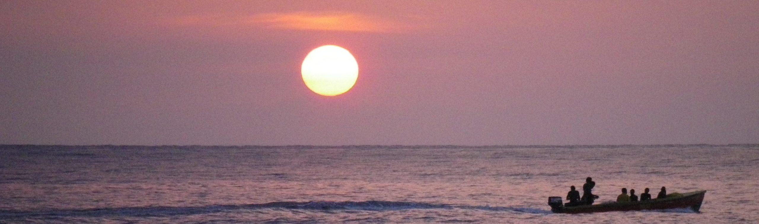 Jamaica-sunset-boat