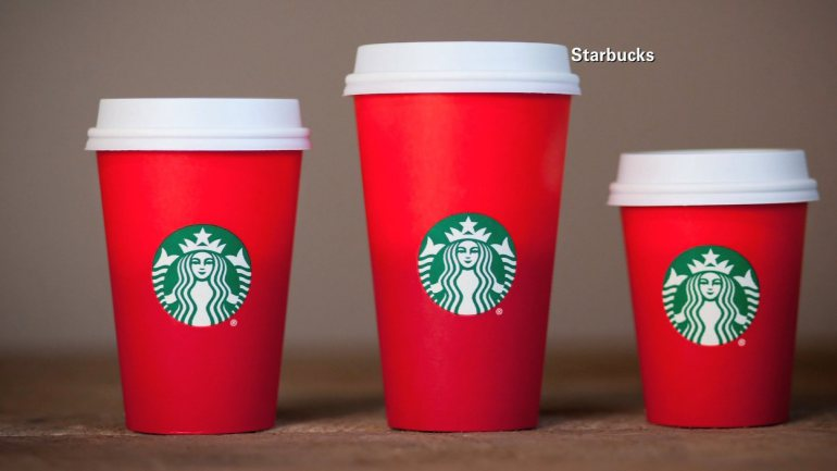 This year's holiday season red cups at Starbucks have stirred up critics who accuse the company of waging a war on Christmas.