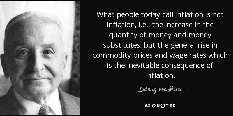 mises inflation