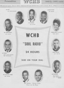 WCHB Soul Radio, Detroit 1966 (click on image for larger view)