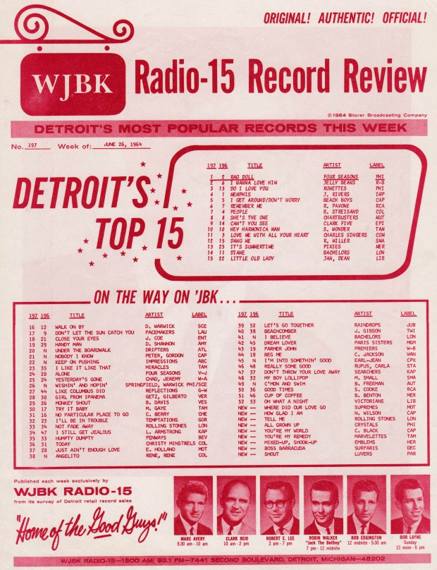 WJBK-SURVEY-JUNE-26-1964-FRONT