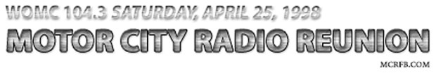 Motor City Radio Reunion 1998 (mcrfb) Banner