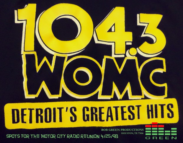 WOMC-FM Detroit's Greatest Hits Bob Green (mcrfb2)