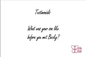 Testimonial #1