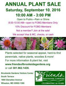 FOBG plant sale