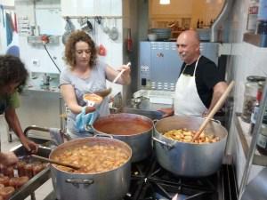 Preparazione marmellata