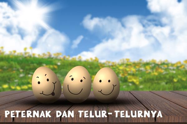 peternak dan telur-telurnya - artikel
