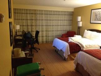 Boring hotel rooms