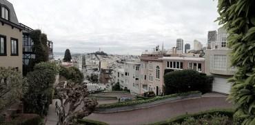 Lombard Street Panorama