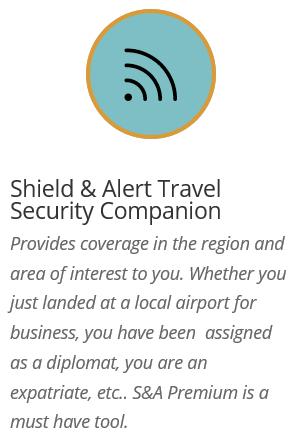Shield & Alert Security Travel Companion