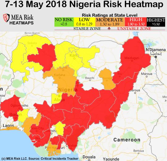 Nigeria-HeatMap