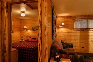 Acorn Cabin at Meadowbrook Resort & DellsPackages.com in Wisconsin Dells