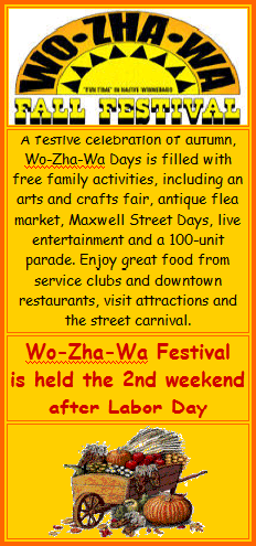 Wo-Zha-Wa Fall Festival - Stay at Meadowbrook Resort in Wisconsin Dells