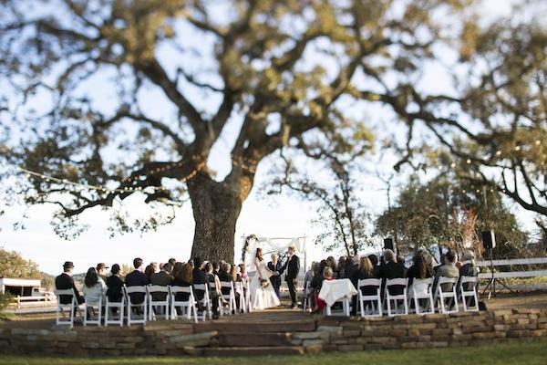 santa margarita wedding ceremony