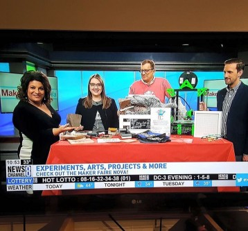 Maker Fair 2017 & I was on the News!