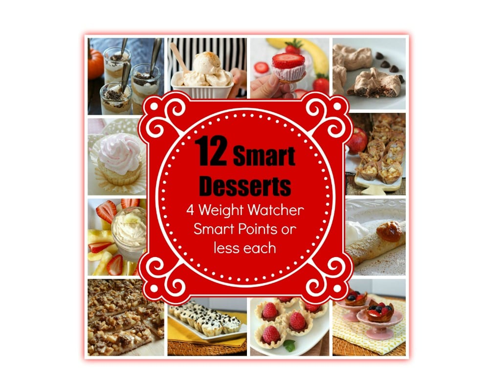 Smart Desserts with Weight Watcher Smart Points