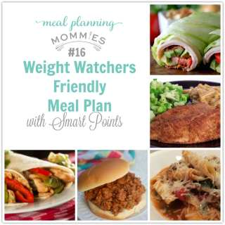 Weight Watcher Meal Plan with Smart Points-MPM- 16